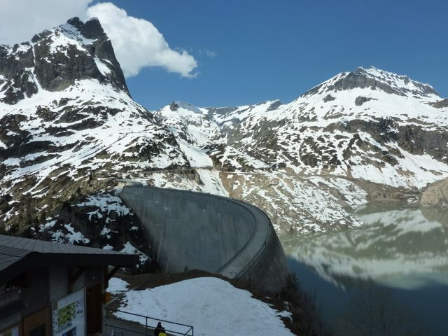 Col de la Gueulaz (6) Le barrage.