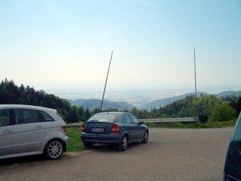 Kaelbelescheuer Blick ins Rheintal.