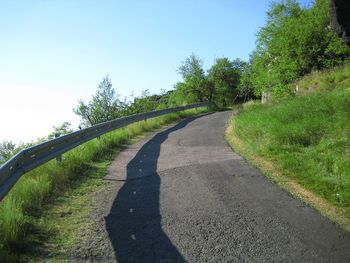 das Steilst�ck kurz vorm Plateau