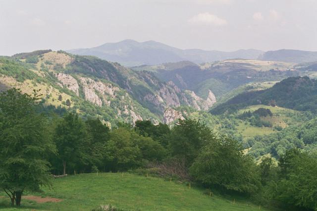 D 20 Blick zurück Richtung Niort-de-Sault ins Rebenty-Tal