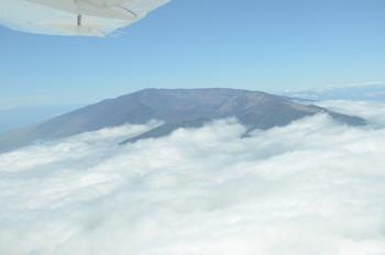 Haleakala aus der Luft