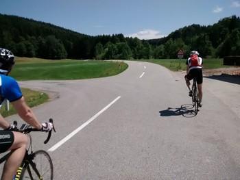 Anfahrt auf den Haunsberg