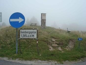 Gaisberg im Nebel