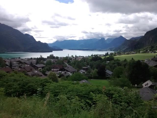 Blick über den Wolfgangsee