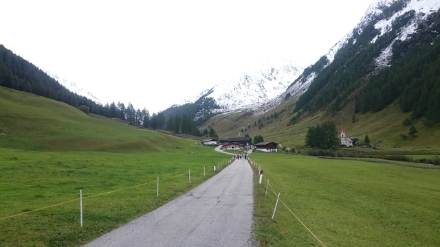 Straße kurz vor Prastmann