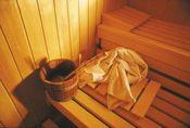 Unsere Sauna zum Entspannen