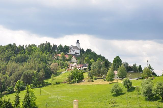 Die Kirche am Gipfel