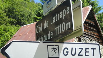 62. Col de Latrape. Sommer 2010 Pyrenäen