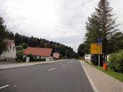 Start der Nordostauffahrt von Hirschbach