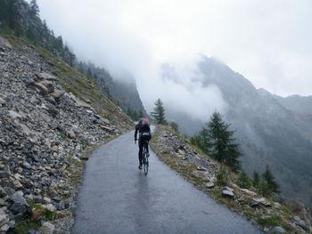Roli im steilen Schlussabschnitt