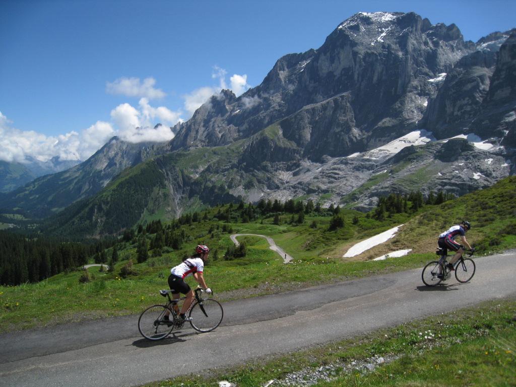 Quetschen an der Grossen Scheidegg