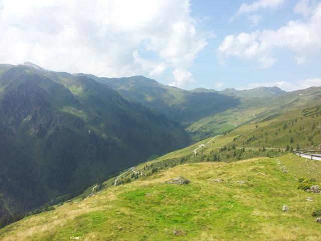 Aussicht vom Melchboden Richtung Bergwelt