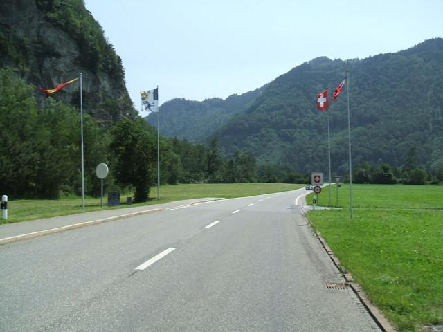 Grenze Lichtenstein - Schweiz