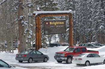 Brighton Ski Resort - Since 1936 - Elevation 8755 (ft) - Wasatch Cache National Forest