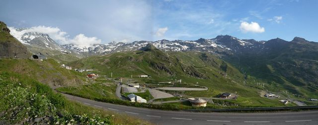 Great panorama by Val Thorens