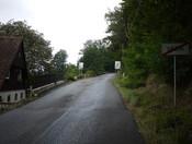 Ortsausgang Tetschen.
