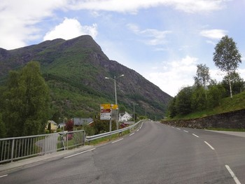 Am Start in Skjolden.