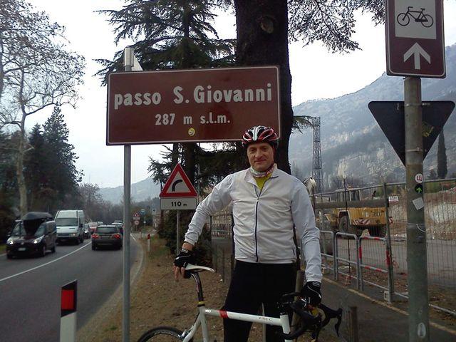 Danny am Passo San Giovanni (287m)