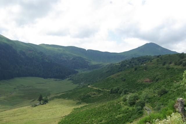 Blick vom Col de Serre zum Puy Mary