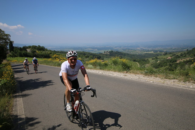 Training Week in Tuscany (Colle di Val d'Elsa) - from 6th to 13th May 2017