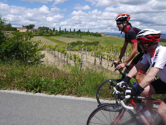Training Week in Tuscany (Colle di Val d'Elsa) - from 5th to 12th May 2018