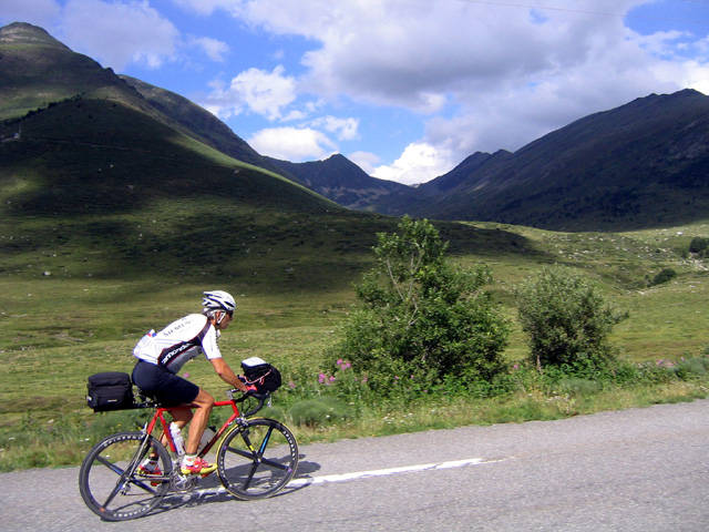 Auf dem Weg zum __(Col de Puymorens)