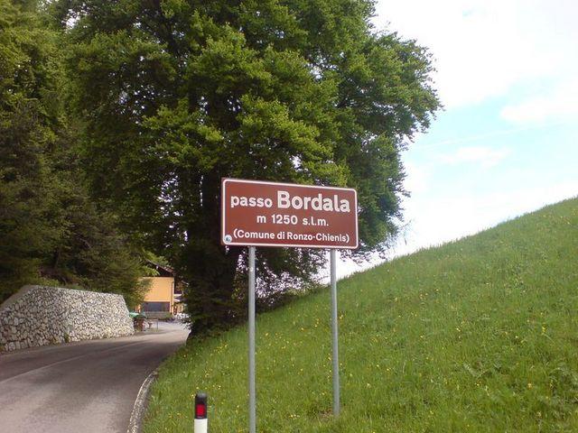 Passo Bordala - Passhöhe.