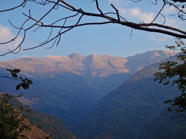 Berge oberhalb der Alpe Erba, 24.10.11.