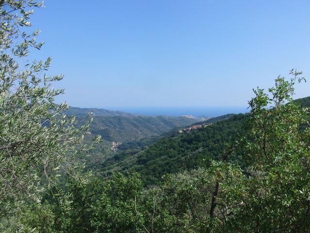 Blick von Villatalla Richtung Küste