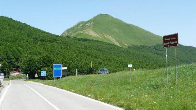 Passo Pradarena Passhöhe.