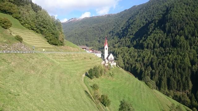 Nordauffahrt: Mühlbach