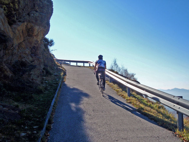 Alpe di Zalto, Steilrampe,