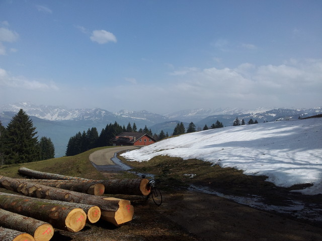 Berghaus Girlen mit Panorama