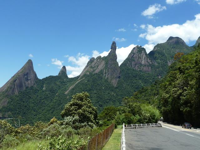 Serra dos Órgãos wird auch mit Orgelpfeifengebirge übersetzt
