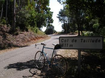 Am Col de Taillude.Daniel Difflipp