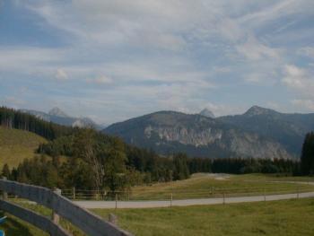 Die Berge der österreichischen Exklave Jungholz. Armin Kübelbeck