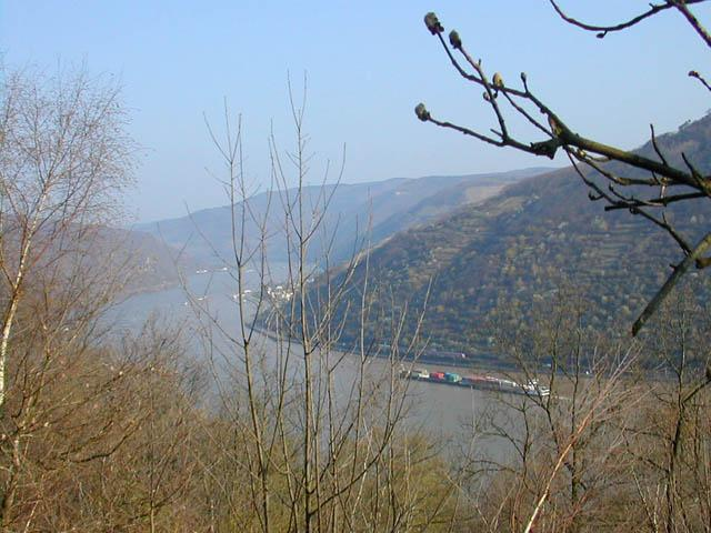Anfängliche Aussicht in die Rheinebene.Ralf Lindart