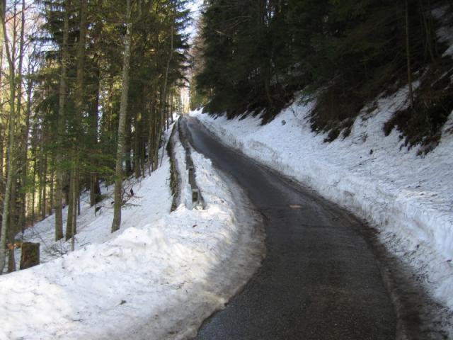 Die letzte harte Rampe vor dem Gipfel.