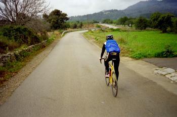 Auf dem Weg nach Lloseta, in Richtung __(Coll de Hono).