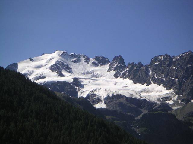 Aussicht in der Passanfahrt zum Foscagno