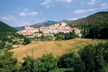 Mosset am Col de Jau.Tag 1 Sommertour Pyrenäen 2002