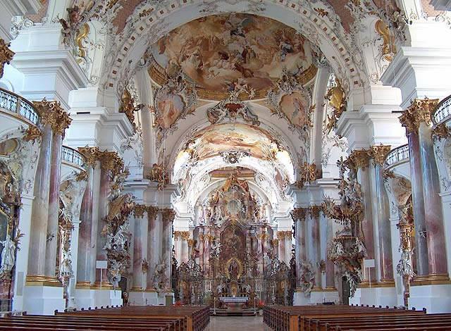 Klosterkirche Zwiefalten.
