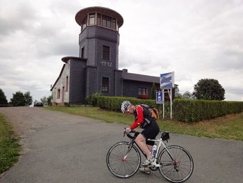 Der Vollständigkeit halber auch das Beweisfoto am Barigauer Turm.