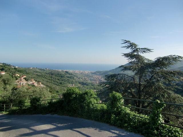 Panoramaroute Ausblicke im Mai auf Chiavari