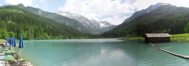 Das Panorama am See
