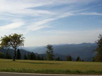 Traumhafter Septemberblick in den Schwarzwald