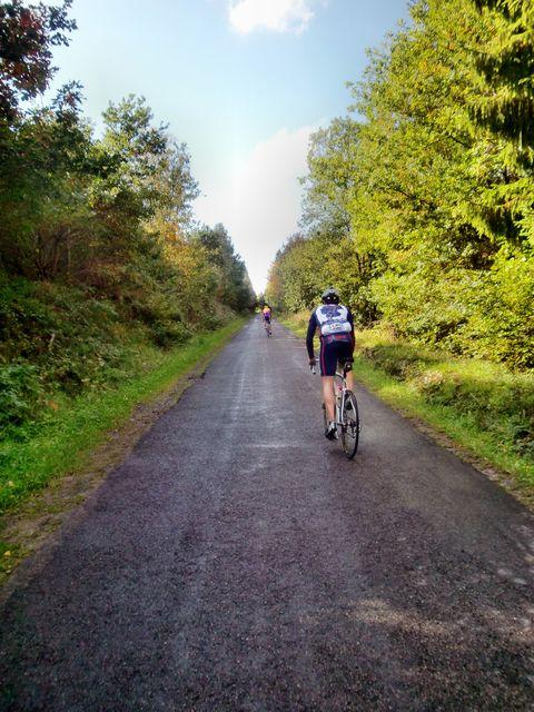Marcel auf dem Weg nach Xhierfomont