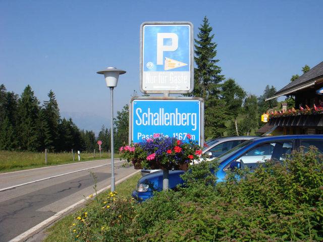 Schallenberg-Passhöhe