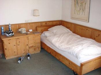 Zimmer im Hotel Guardaval