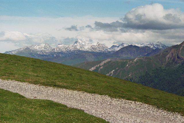 Col d' Erroimendy: Blick nach Osten
